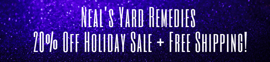 Neal's Yard Remedies 20% OFF Holiday Sale