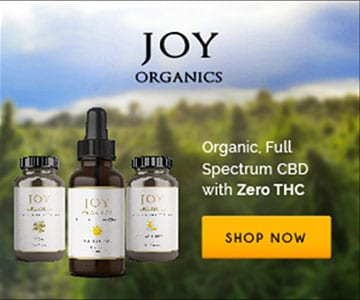Joy Organics CBD Oil 15% OFF Coupon Code: HWL15