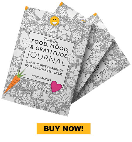 Food, Mood, & Gratitude Journal