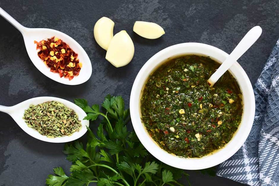 Health Benefits of Parsley, Chimichurri Recipe