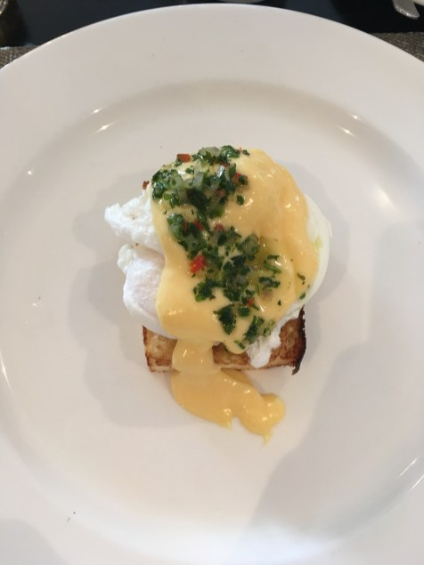 Eggs Benedict for me