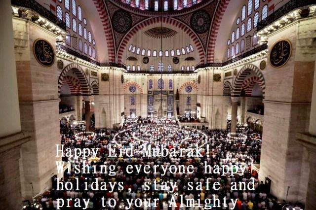 Happy eid al fitr wishes 2020