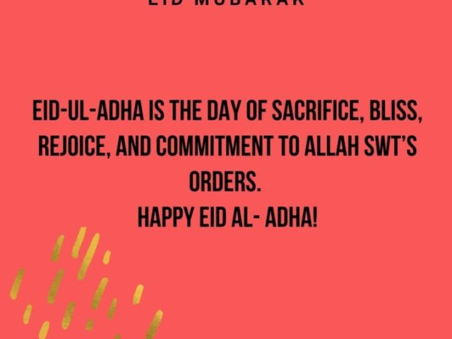 Eid ul Adha Quotes 2021