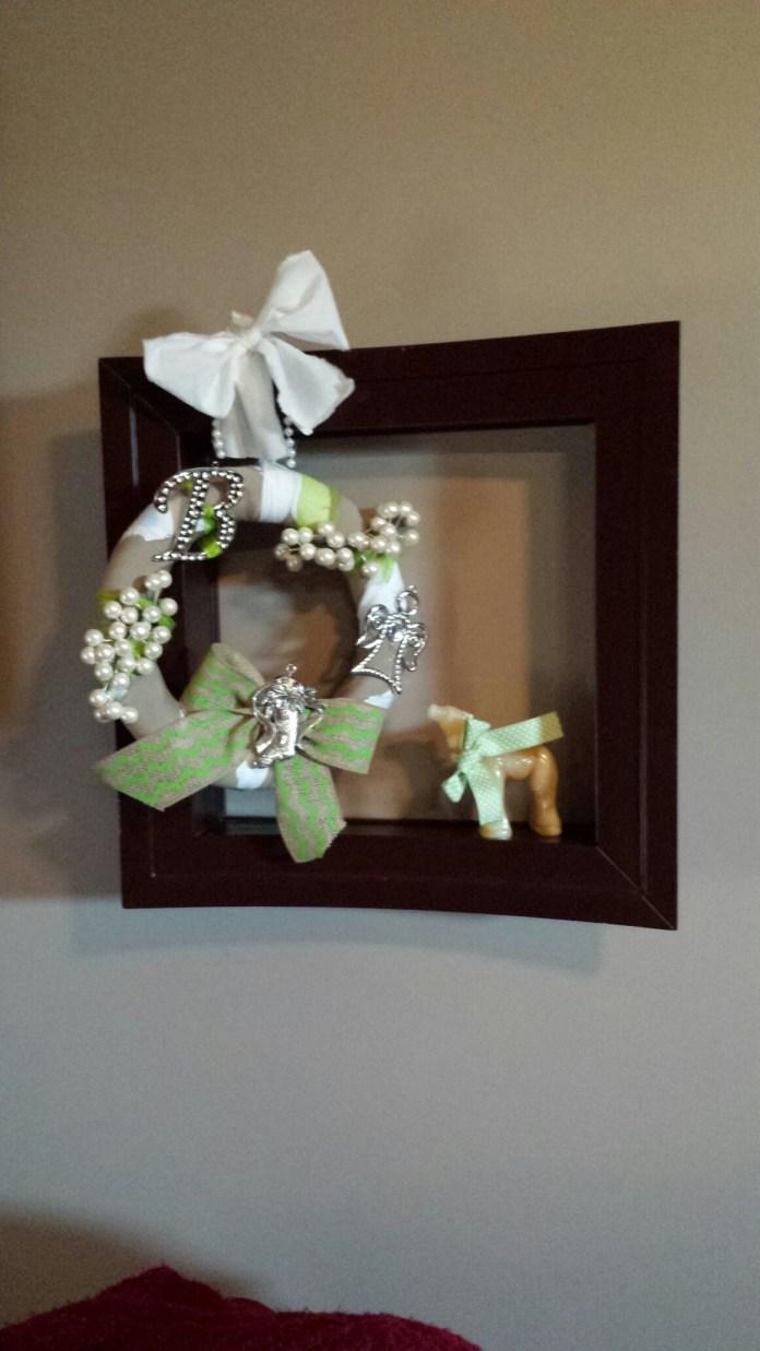 My wreath I made!