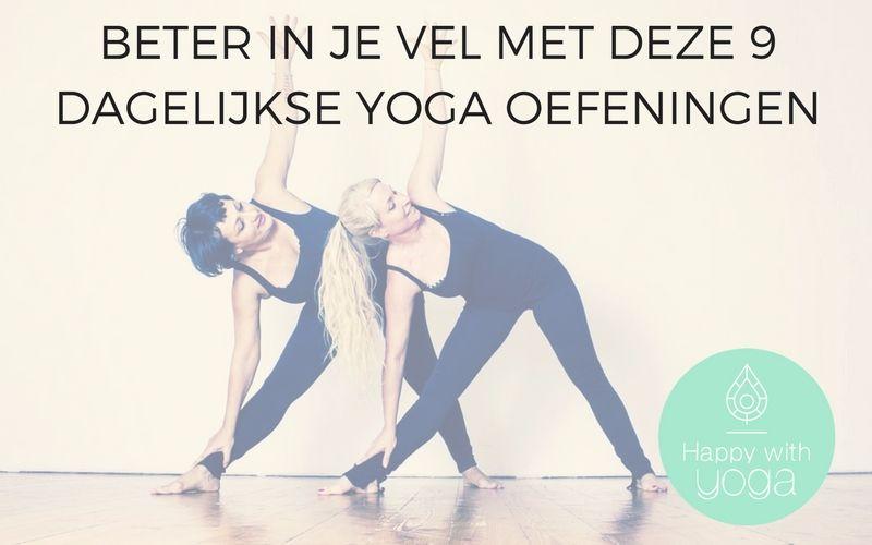 dagelijkse Yoga oefeningen