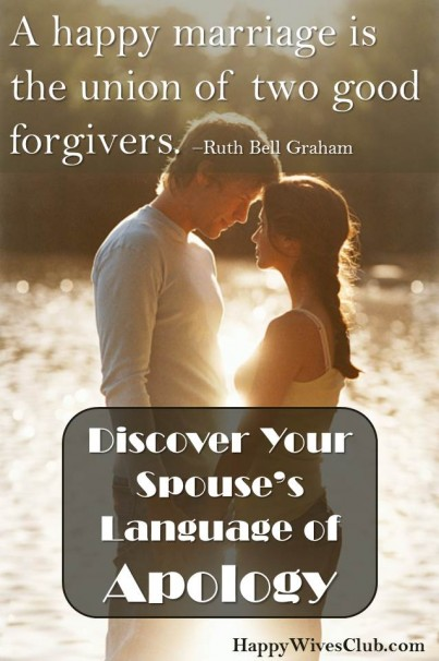 Apology To Husband : apology, husband, Discover, Spouse's, Language, Apology, Happy, Wives