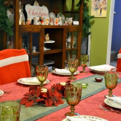 Santa Hat Chair Covers Target Slipcover For And A Half Lenox Laurel Tablecloths The Happy Wonderer Ellen B