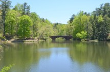 Biltmore Bass Pond And Waterfall Happy Wonderer