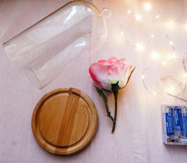 DSCN2420 600x526 - DIY La rose enchantée de la Belle et la Bête