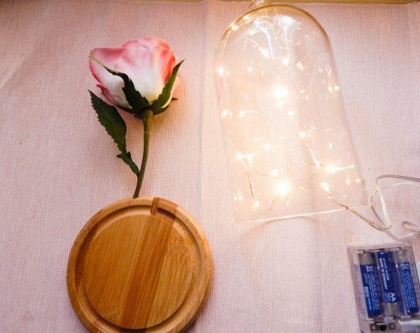 DSCN2422 600x476 - DIY La rose enchantée de la Belle et la Bête