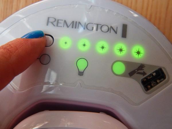 Remington IPL6750 Épilateurs à Lumière Pulsée I-Light Prestige adieu les poils