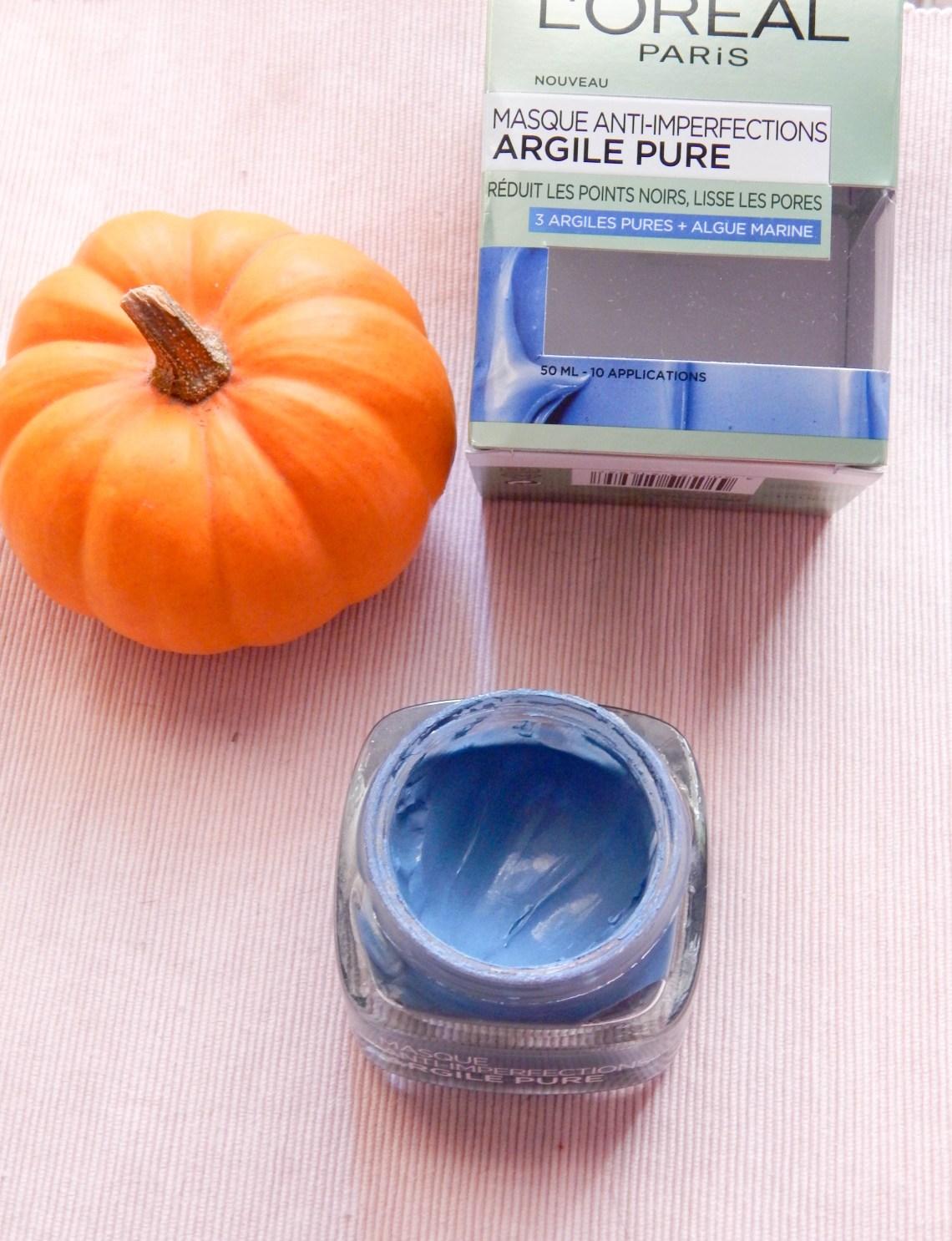 DSCN3438 - Masque à l'argile pure anti-imperfections de L'Oréal