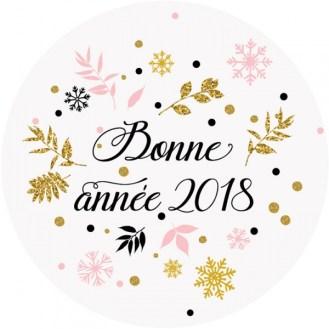 sticker-bonne-annee-2018 nouvel an