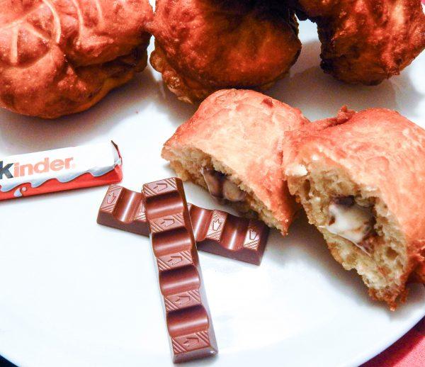 recette beignets kinder chocolat