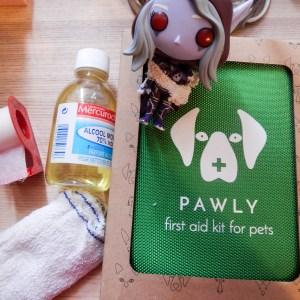 Pawly Trousse de premiers secours animaux de compagnie