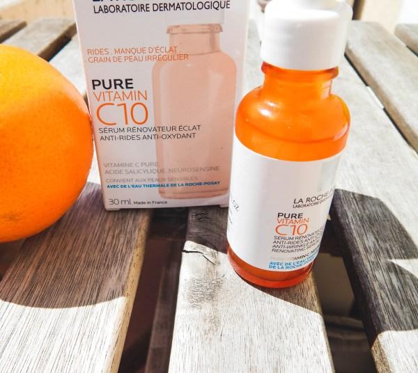 DSCN7159 600x536 - La Roche Posay Pure vitamin C10 : cocktail de vitamine pour le visage