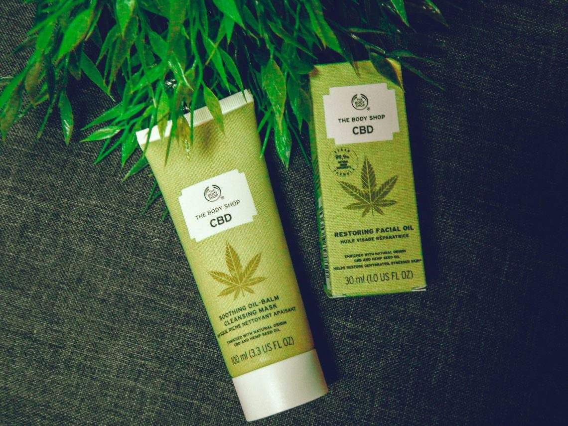 the body shop CBD soin visage