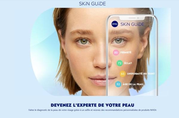 Sans titre 2 600x396 - Nivea : skin guide, la web-appli qui te conseille un soin