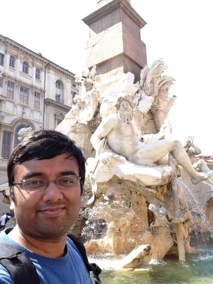 Me at Piazza Navona