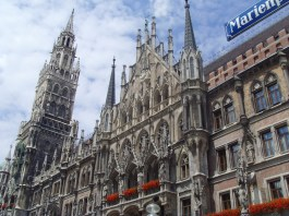 Town Hall in Marienplatz