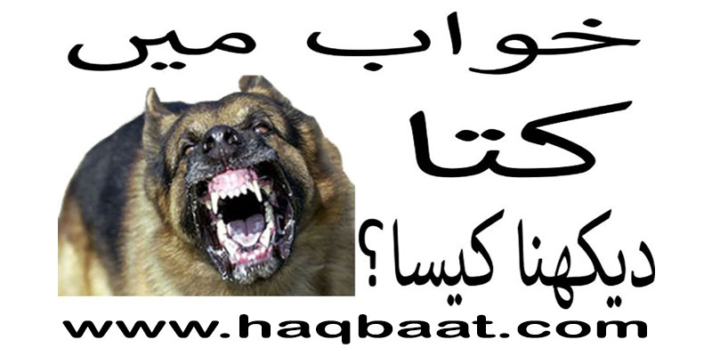 Khawab me Kutta Dekhna? - Seeing dog in a dream | Haq Baat