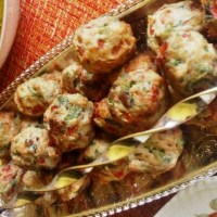 Healthified Chicken meatballs