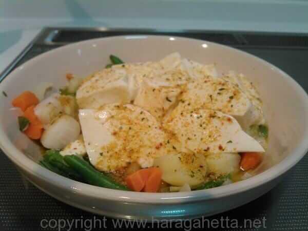 ランチは毎日これでいいや。時短「スープ豆腐」改め「ポトーフ」