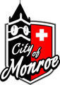 Monroe, Wisconsin City Seal - https://en.wikipedia.org/wiki/File:Monroe_Wisconsin_City_Seal.png