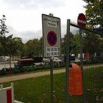 Parkflächen - natürlich auch gesperrt