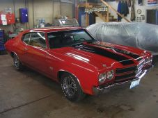 Red and Black Chevelle (2)