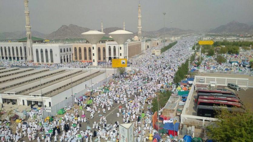 Over a million pilgrims arrive  in Saudi Arabia for Hajj 2019