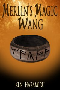 "This is the eBook cover to ""Merlin's Magic Wang"""