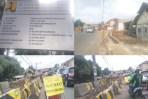 Proyek Pembangunan Flyover Martadinata Bogor.