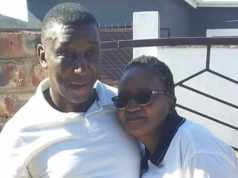 Couple Mlandeli and Nomfundo Jantjies have experienced a tough few months after Nomfundo's mother died from coronavirus and, less than a month later, her husband also contracted the virus. Picture: Supplied.