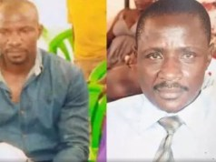 Police identified the deceased as 48-year-old, Hakim Katende (left) and 45-year-old, Hassan Kiwango