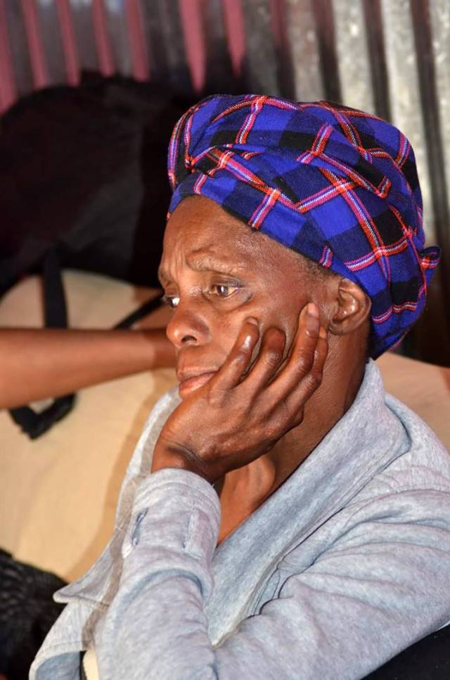 The deceased's mother Nokwayintombi Mdutyini has been struggling to sleep since the death of her child. Photo by Lulekwa MbadamanePhoto by The deceased's mother Nokwayintombi Mdutyini has been struggling to sleep since the death of her child. Photo by Lulekwa Mbadamane.