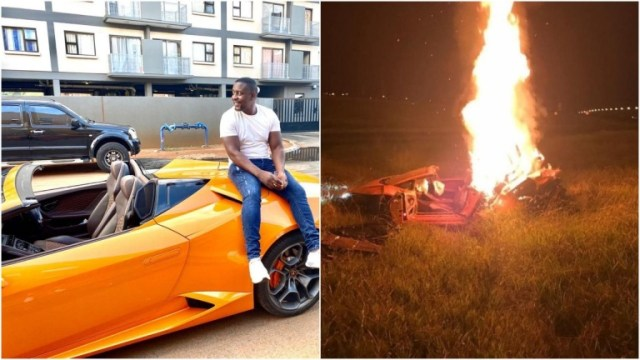 Trevor Mbizvo has shocked social media users by not showing any remorse after his friend, Eddie died during the fatal crash that reduced his Lamborghini to ashes on 28 March.