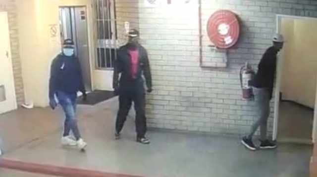 Three of the men wanted by the police for the theft of laptops worth over R4m at the offices of the Limpopo Department of Rural Development.