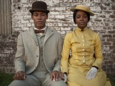 Aaron Pierre and Thuso Mbedu in 'The Underground Railroad'. Image: Amazon Prime Video