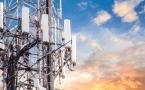 Égő 5G mobiltornyok