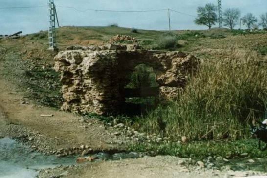 CANALISATION ROMAINE D'OUED ROUINA