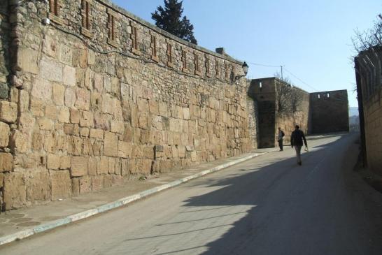 Le mur bizantin