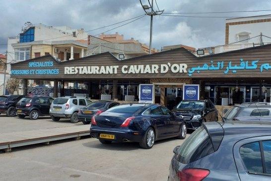 Le Caviar d'or restaurant - Credit Harba-dz