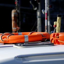 Safety equipment aboard - Harba
