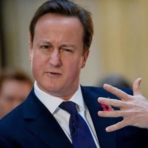 David Cameron explains the Five Fingered Discount!