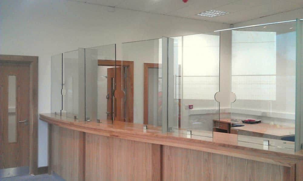 Partition Glass  Harbor All Glass  Mirror Inc