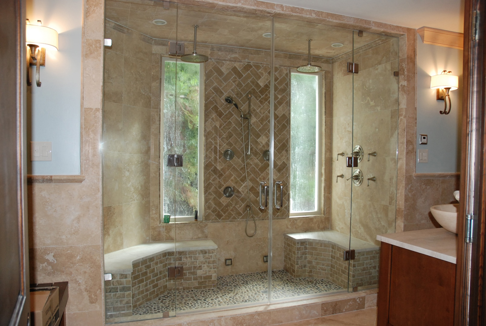 Shower Glass  Harbor All Glass  Mirror Inc