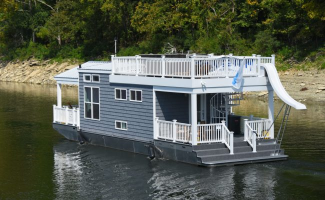 Tiny Harbor Cottage Houseboat Tiny Houseboat For Sale