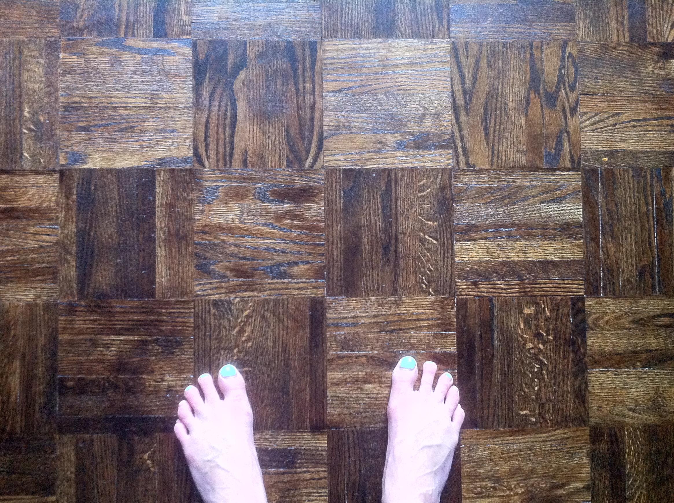 refinish kitchen sink basin parquet floors – refinished! | harbour dweller