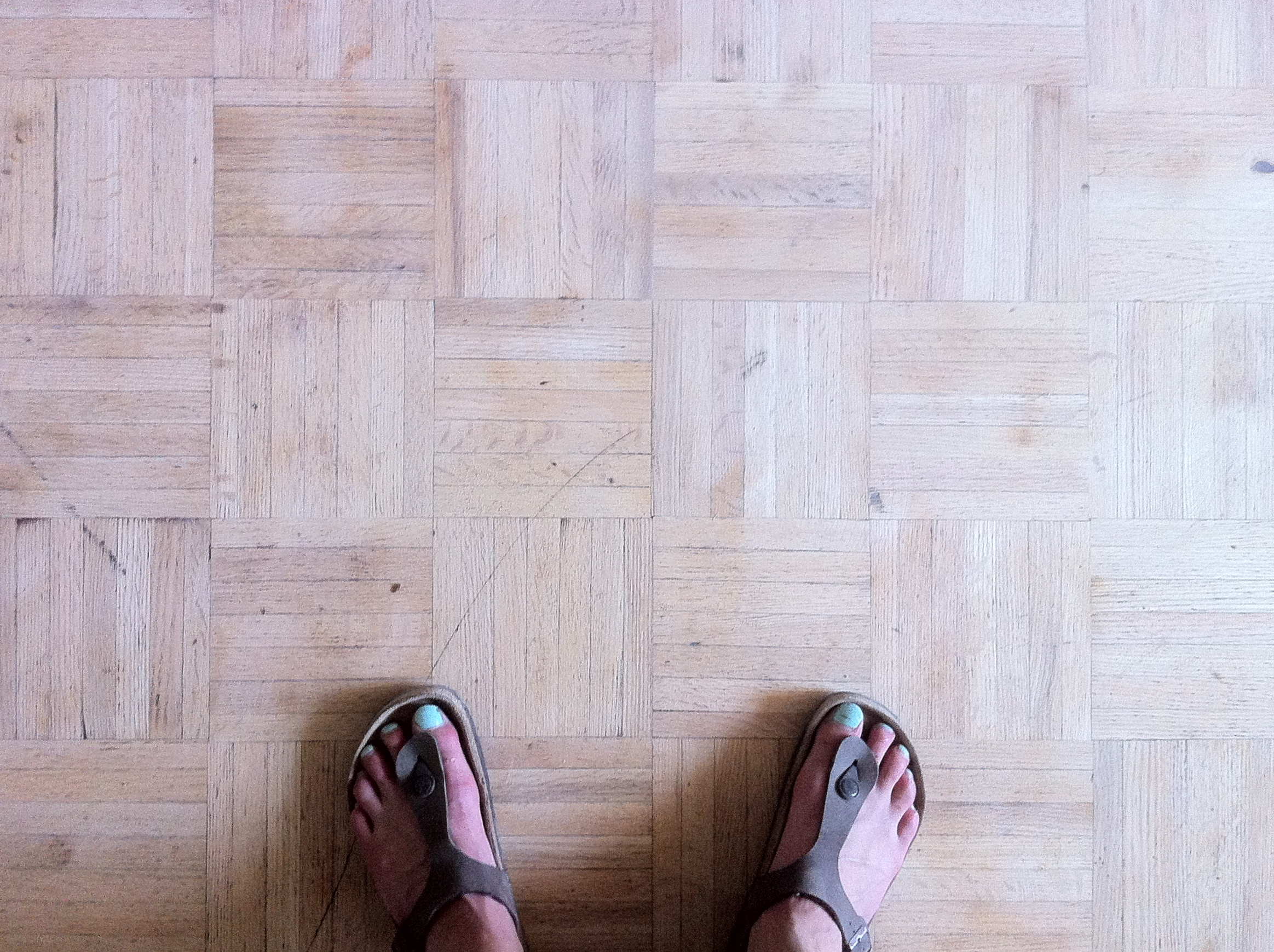 Parquet Floors  Refinished  HARBOUR DWELLER